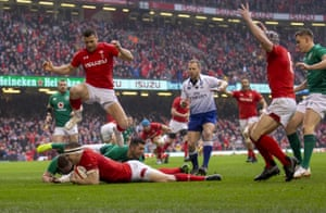 Hadleigh Parkes opens the scoring early.