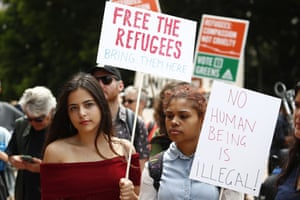 """'These men lie to us, when they call boat people """"illegal"""". It is not an offence to arrive in Australia, without a visa, seeking to be protected from persecution'"""