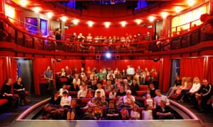 The Egg's auditorium, seen from the stage.