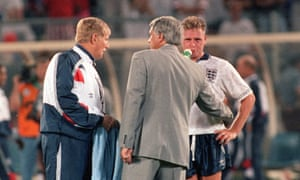 England reached the World Cup semi-final in 1990