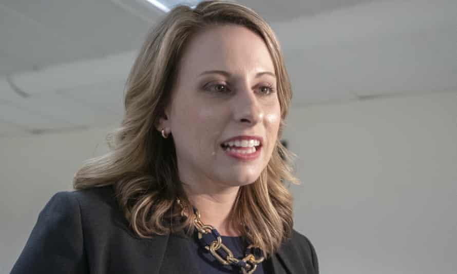 Katie Hill tweeted: 'A judge just ordered me to PAY the Daily Mail more than $100k for the privilege of them publishing nude photos of me obtained from an abuser. The justice system is broken for victims.'