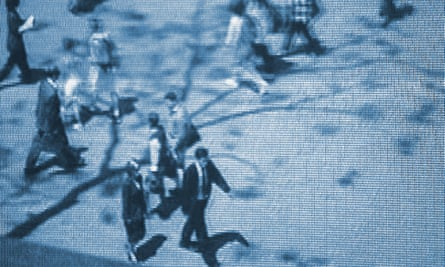 People on Security Camera<br>GettyImages-a0073-000101
