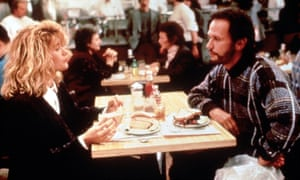 The famous 'orgasm scene' from 1989's When Harry Met Sally.