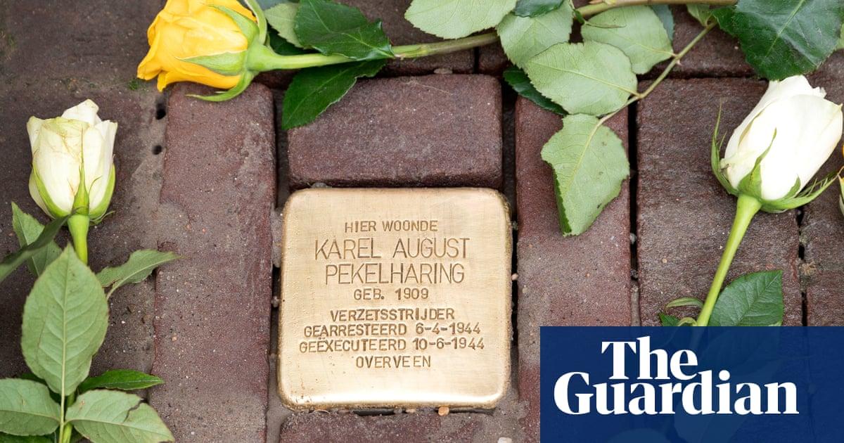 Amsterdam 'stumbling stones' commemorate gay victims of Nazis