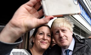You certainly get an idiosyncratic stripe of small talk in the selfie queue at a Boris gig