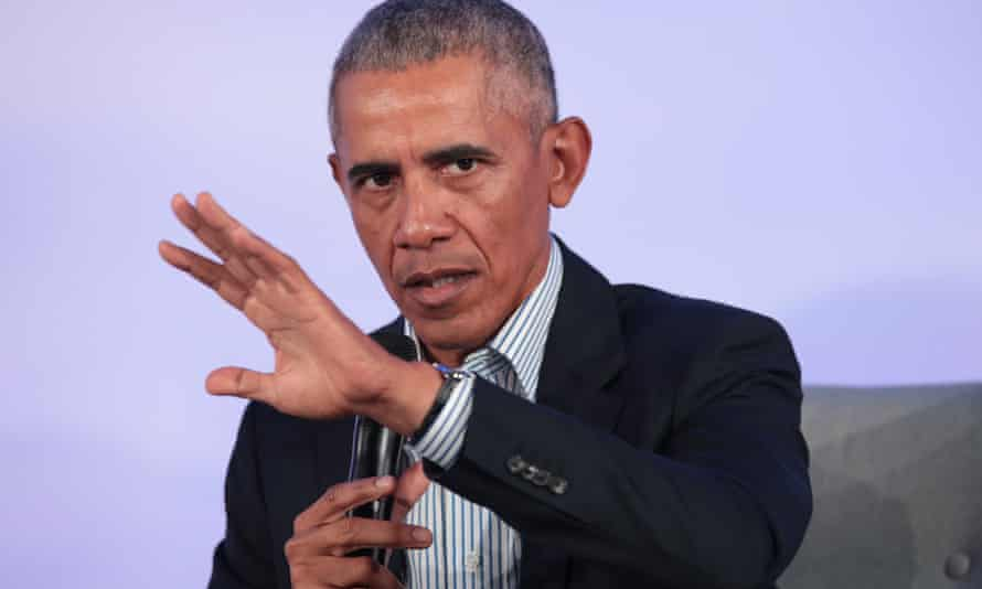 The audacity of nope ... Barack Obama's new catchphrase appears to be 'No we can't'.