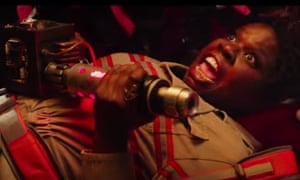 'I'm mad as hell' … Leslie Jones in Ghostbusters