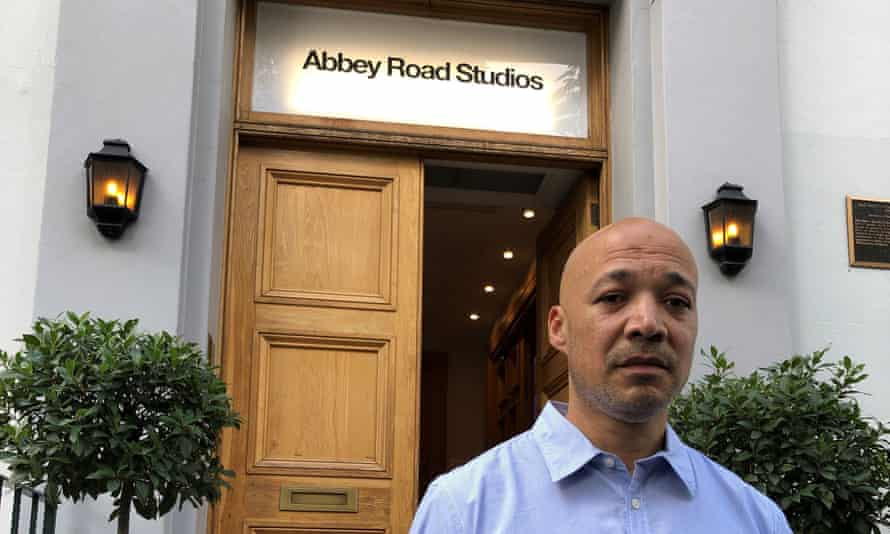 Matthew Phillip at Abbey Road Studios, where much of the music for this year's carnival was recorded