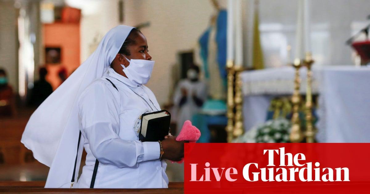 Coronavirus live news: 600 die in Nigeria outbreak; Madrid denies not treating care home residents