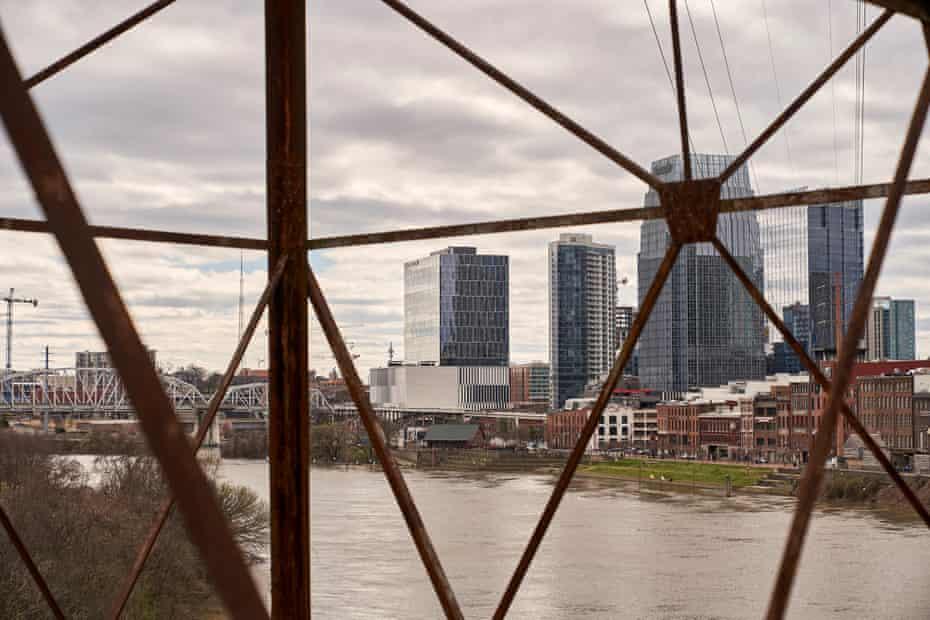 Nashville skyline.