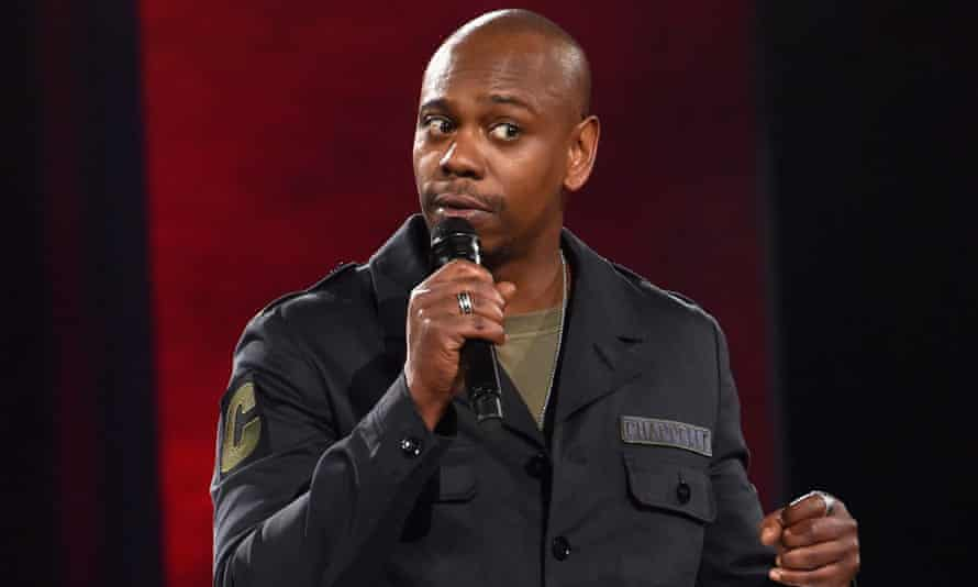 Dave Chappelle performing in 2016.