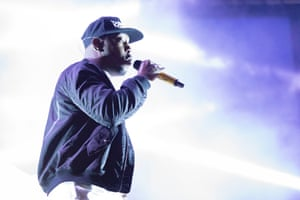 Dizzee Rascal plays the West Holts stage at Glastonbury 2017.