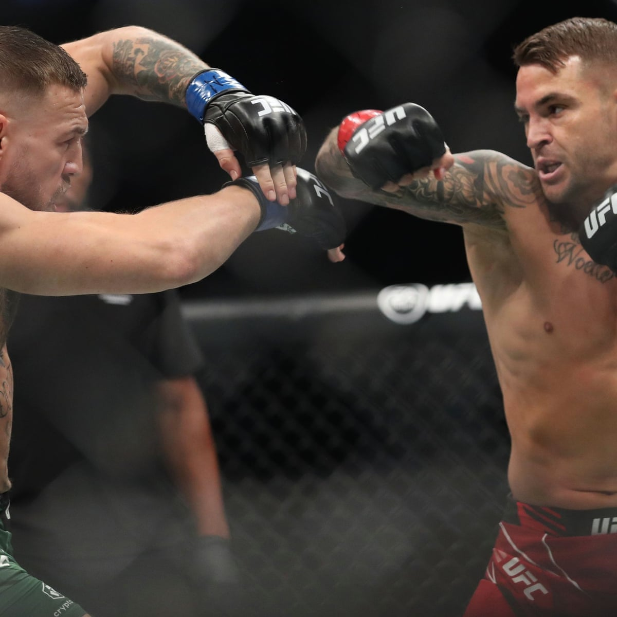 UFC 264: McGregor humbled by Poirier in one to cap trilogy as Trump looks  on   UFC