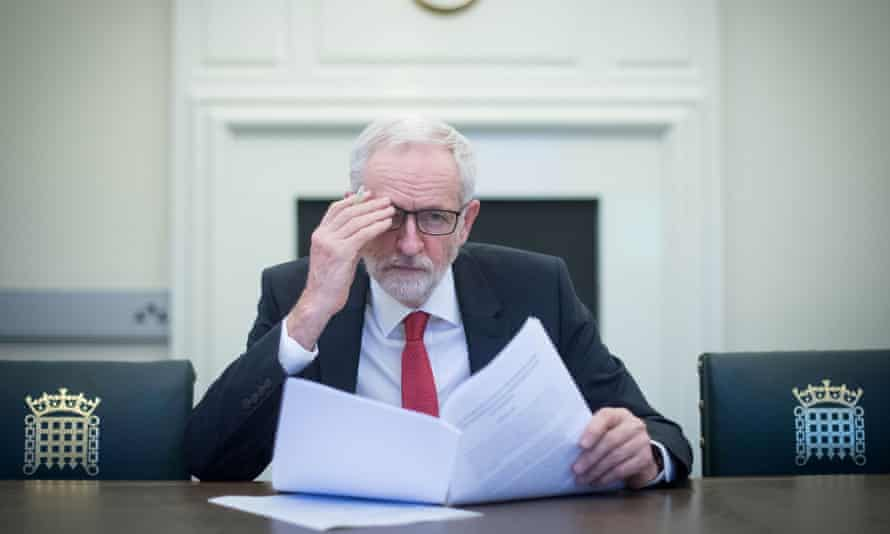 Jeremy Corbyn: 'This is not a time for despair'