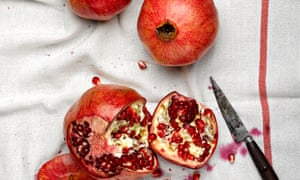 """""""Pomegranates can transform the look of a dish, but they also punctuate salads or slow-cooked dishes with intensely sweet and sour notes.'"""