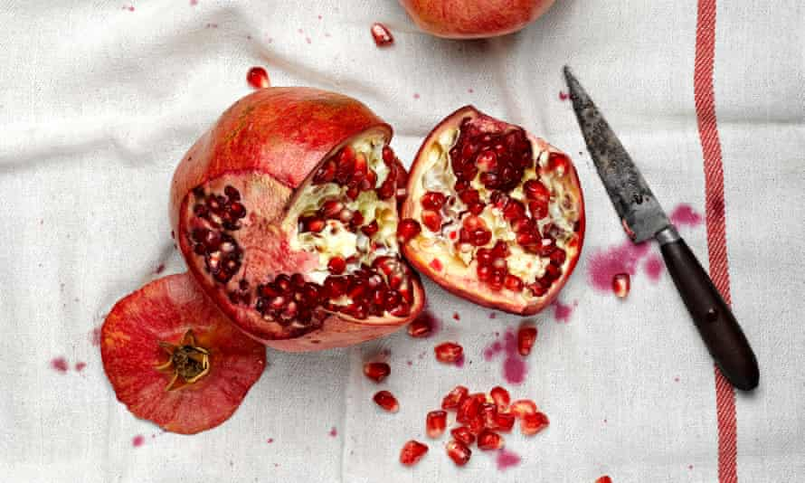 Seeds of change: enjoy the taste of summer with Ottolenghi's tomato and pomegranate salad.