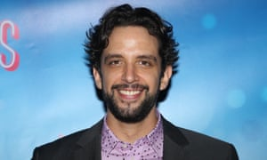 Nick Cordero at the opening night of Waitress on Broadway in 2016.
