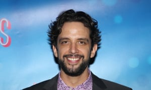 Broadway actor Nick Cordero, who died Sunday after a long battle with coronavirus.