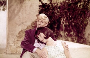 With Melvyn Hayes in the film Summer Holiday, 1962.