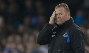 Everton's 2-1 defeat by Lyon in the Europa League means Ronald Koeman's team have won only twice in their last 12 matches.