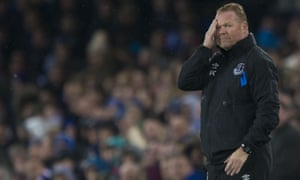 Ronald Koeman can hardly bear to watch as his Everton side go down to Lyon to ramp up the pressure for Arsenal's visit to Goodison Park on Sunday.