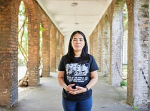 Analiza Guevarra, a Filipina former domestic worker who now runs a charity