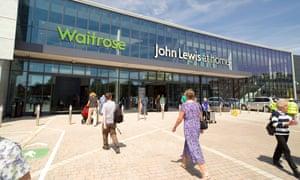 John Lewis and Waitrose store in Horsham, Sussex
