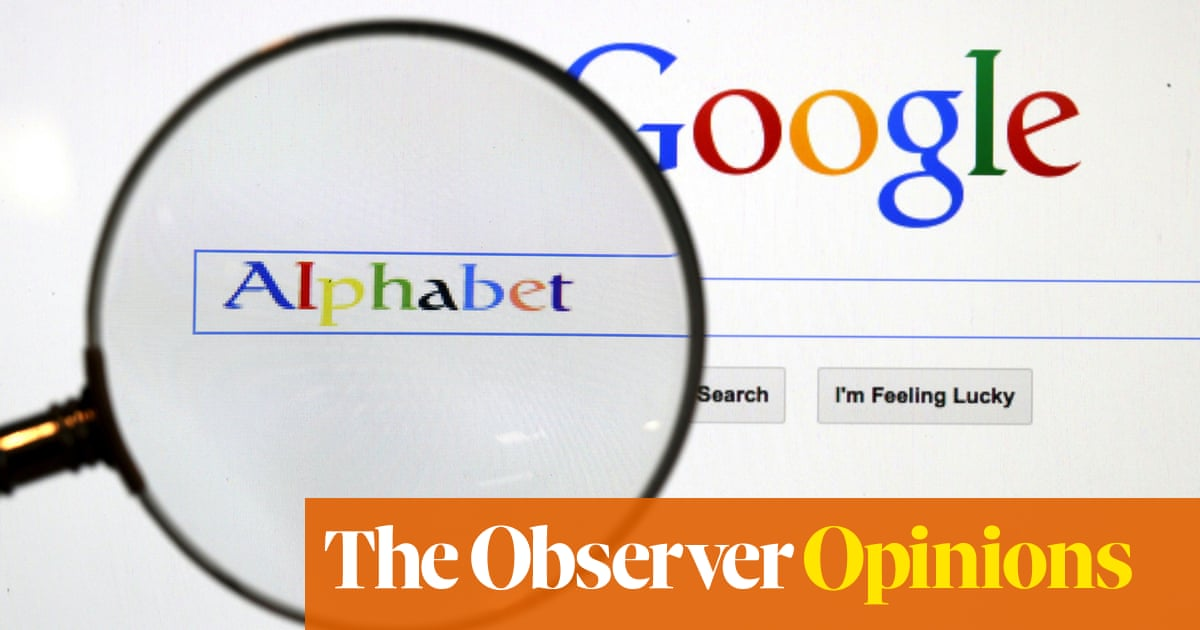 You dont need a search engine to see why Google wont lose this lawsuit | John Naughton