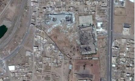 Yemen factory complex