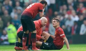 Ander Herrera and Juan Mata were both injured.