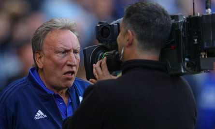 Neil Warnock will see out the final year of his contract in the Championship following Cardiff's relegation from the Premier League.