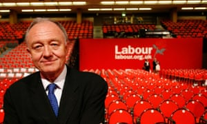 London Mayor Ken Livingstone at the Labour party conference in 2005.