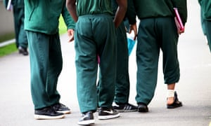 Inmates at Ashfield Detention Centre