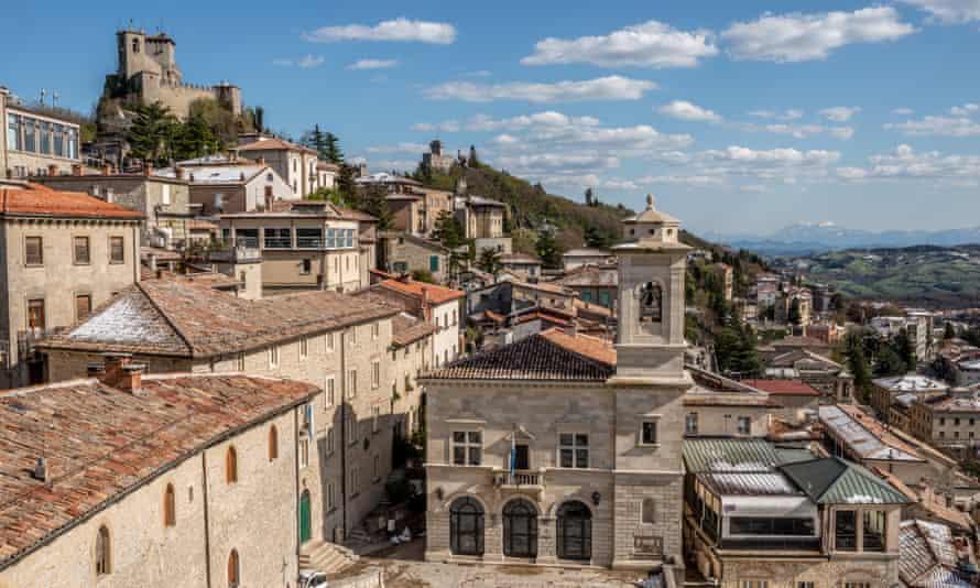 San Marino's historic centre