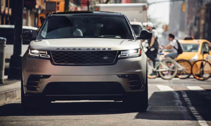The new Range Rover Velar launched in the US in April.