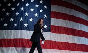 Senator Kamala Harris, a Democrat from California Iowa Democratic Wing Ding Dinner, Clear Lake, USA