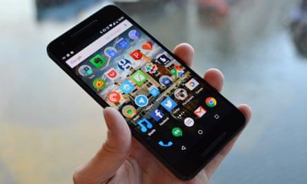 google nexus 6p smartphone