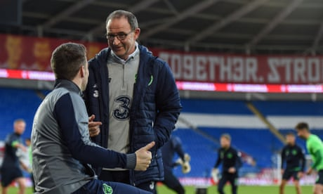 Republic of Ireland's Martin O'Neill 'not bothered' by Wales being favourites