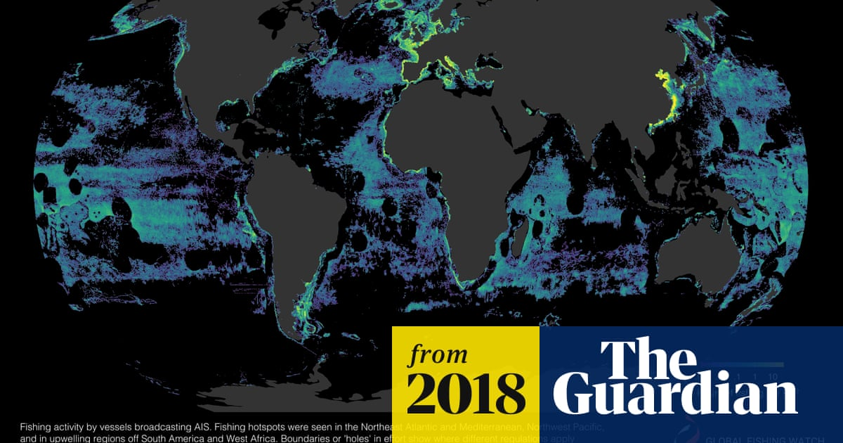 Half Of World S Oceans Now Fished Industrially Maps Reveal Environment The Guardian