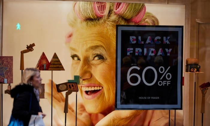 High street's hopes for Black Friday bonanza unlikely to be