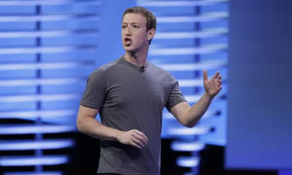 Mark Zuckerberg: when asked whether he was a reptile, he said the question was 'very silly'.