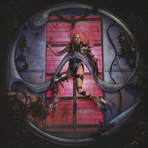 The artwork for Chromatica.