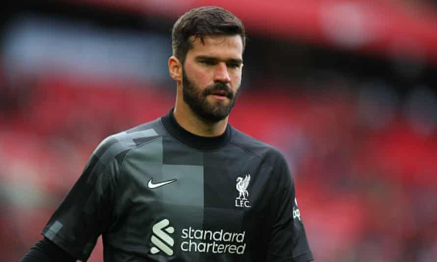 Liverpool goalkeeper Alisson is among the Brazilian players who could be forced to sit out this weekend's round of Premier League games