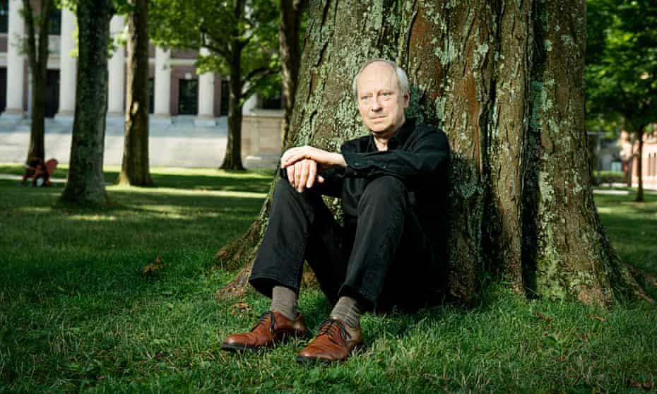 Michael Sandel photographed last month in the grounds of Harvard, Cambridge, Massachusetts.