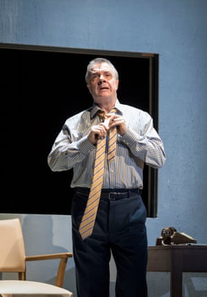 Nathan Lane (Roy M Cohn) in Angels in America - Millennium Approaches.