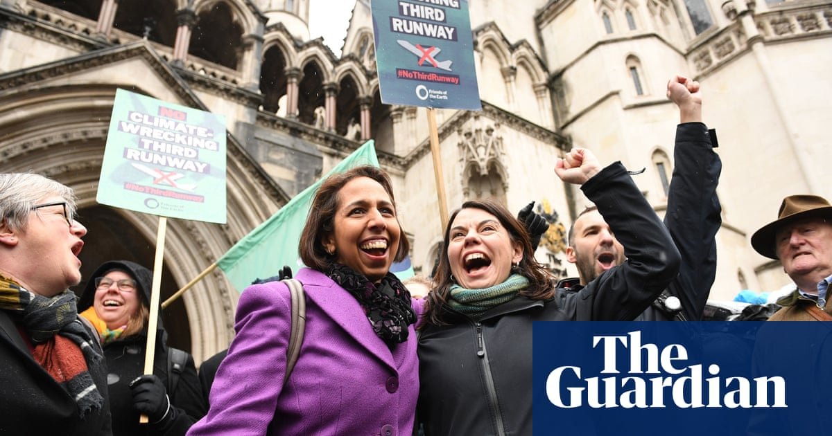 Heathrow third runway ruled illegal over climate change