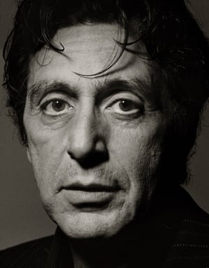 """Al Pacino, New York City, 1996""""In the past, I've gone as far as making sure that the person has their favourite flowers in the dressing room. In preparing to photograph the actor Al Pacino, for example, we called his PR people and asked if he needed anything special, like a certain food. They said, 'No, no, he'll never eat anything. But he does like a good coffee.' We found out what his favourite coffee was – espresso with a twist of lemon – and I actually rented an espresso machine and bought a pound of his favourite coffee. So, when he came in in the morning and asked for a cup of coffee, I was able to present him with his favourite kind, with a twist of lemon. That may have been a little extreme, but these kinds of things really help when you take someone's picture. These little details."""""""