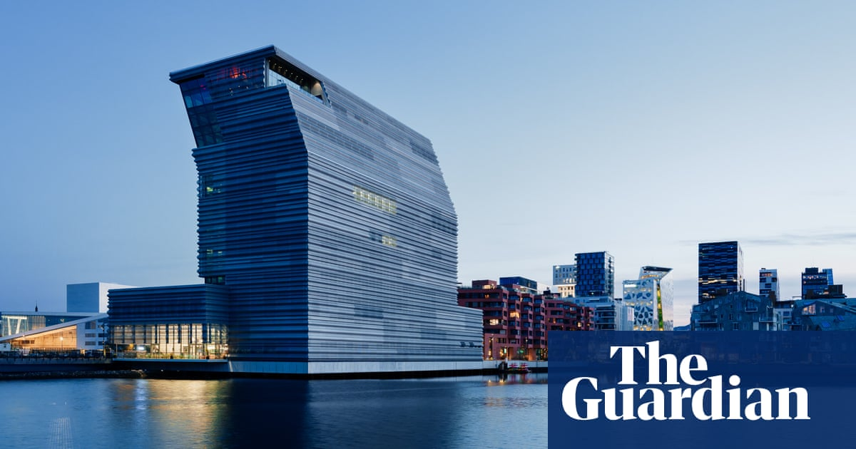 'We are more than just The Scream' – inside Oslo's mega tilting Munch museum