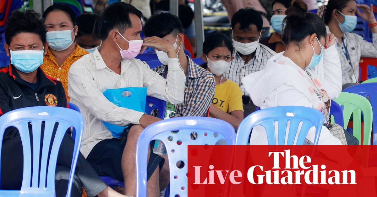 Coronavirus live news: fears in Japan after record case rise; Cambodia locks down provinces bordering Thailand