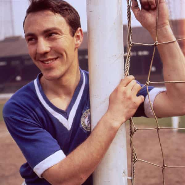 Jimmy Greaves in Chelsea circa 1960.